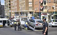 Un hombre de 38 años resulta herido tras ser embestido por un coche en Badajoz