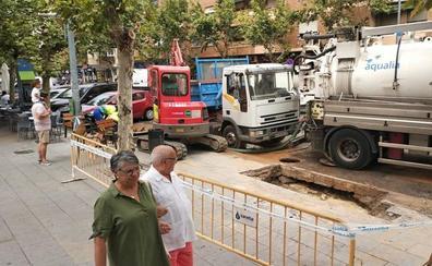 Un nuevo reventón en Badajoz deja sin agua a parte de San Roque