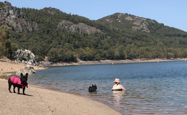 Rincones con encanto de Extremadura: Playa de Puerto Peña
