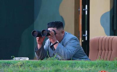 Kim dice que últimos disparos de misiles son una «advertencia» para EE UU y Corea del Sur
