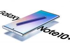 Samsung lanza dos nuevos Note 10