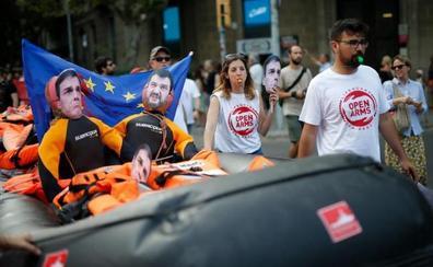 Madrid y Roma mantienen el pulso en torno al Open Arms