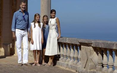 Los Reyes y sus hijas disfrutan como nunca de Mallorca