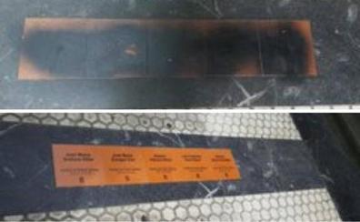Atacan las placas en memoria de víctimas del terrorismo en San Sebastián