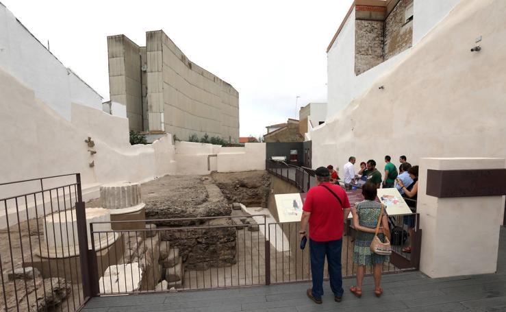 El Templo de Culto Imperial de Mérida, abierto al público desde este viernes