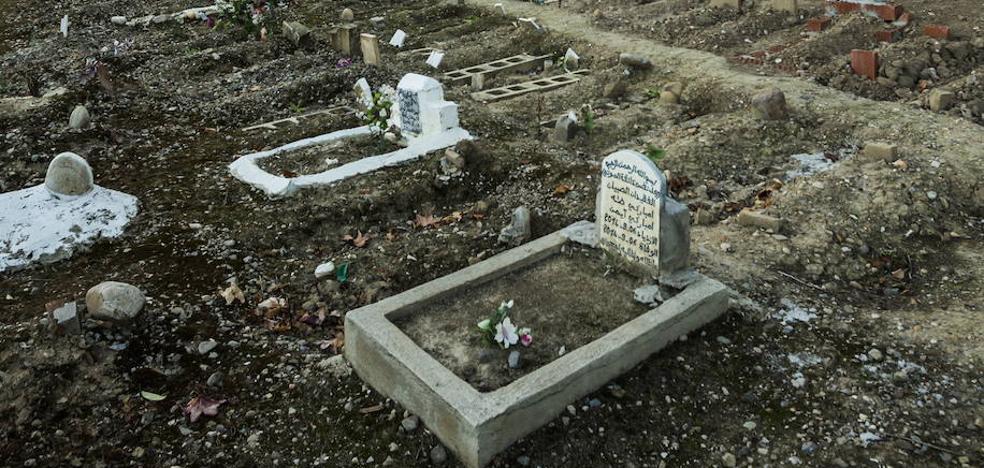 Así se enterrarían los musulmanes en Badajoz