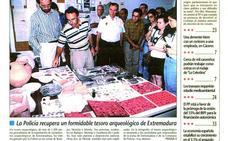 La Policía incauta más de 1.200 piezas arqueológicas expoliadas