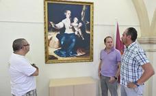 'La Virgen del pajarito' vuelve a su ermita en Badajoz