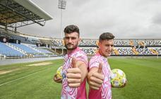 Antonio Caballero y Pablo Vázquez, seducidos por el proyecto del Badajoz