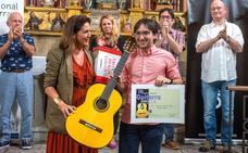 Luis Alejandro García, ganador del festival de guitarra de Coria