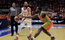 España arrasa ante Costa de Marfil en su camino al Mundial