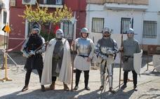Los caballeros de la Edad Media cobran vida