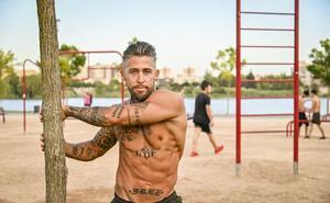 Convertir el parque del río en Badajoz en un gimnasio está de moda