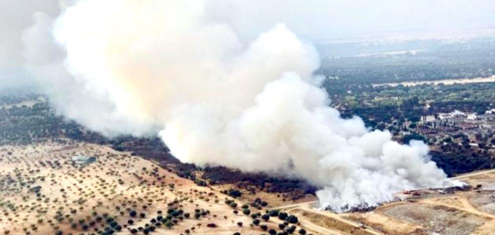El ecoparque de residuos de Badajoz crece 25 hectáreas para evitar la saturación