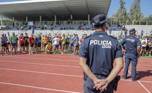 La mitad de aspirantes a las plazas de policía local de Cáceres pasan las pruebas físicas