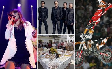 Agosto dice adiós con feria en Mérida, las Fiestas del Ramo y la música de Rozalén