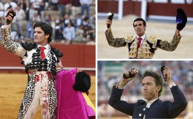 Leonardo Hernández, Emilio de Justo y Garrido torean en la feria de Don Benito