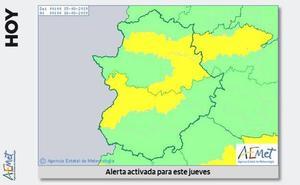 Los avisos por calor en Extremadura estarán activos este jueves y viernes