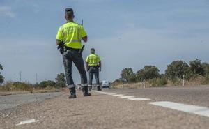 El radar salta a 90 en la carretera de Badajoz a Cáceres