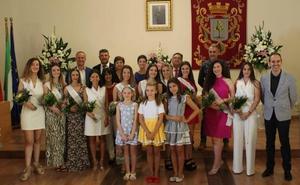 Las fiestas de Almendralejo comienzan con la proclamación de la reina y las damas