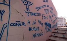 Pintadas en el pabellón de Talayuela