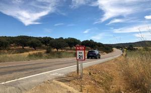 La carretera EX-100 ya es la N-523