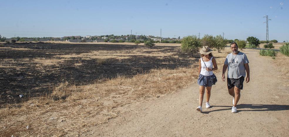 Los incendios vuelven a rodear La Banasta y Las Vaguadas de Badajoz