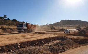 Las obras entre La Encomienda y el puente concluirán en noviembre