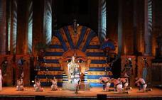 'La corte del faraón' sube la temperatura en el Festival de Mérida