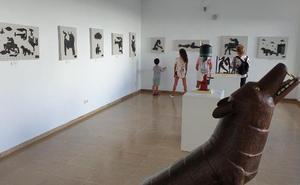 Picasso inspira una exposición de esculturas en hierro y acero en Don Benito