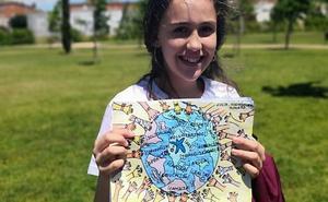 Una pacense gana un concurso de dibujo