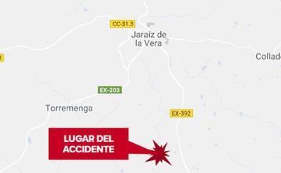 Herida con un trauma craneal una joven de 24 años tras caer de un caballo en Jaraíz de la Vera