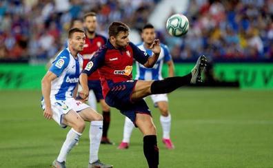 Chimy Ávila alumbra a Osasuna y anula la insistencia del Leganés