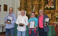 Jalones, García y Bárcenas, premios San Lorenzo 2019 en Los Santos