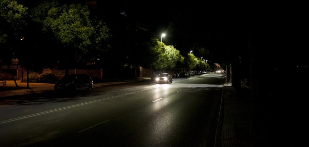 Los conductores denuncian peligro en Ronda Norte de Badajoz por falta de luz