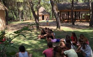 Campo de voluntariado juvenil Circo en la Naturaleza
