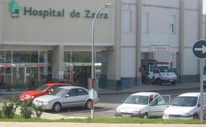 Los aparcamientos del hospital de Zafra estarán listos en quince días