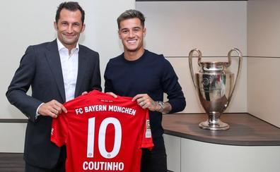 El Barça cede un año a Coutinho al Bayern por 8,5 millones de euros