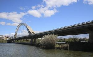 El puente Lusitania se corta hoy durante tres días