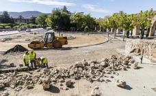 Las obras de la rotonda de los Pinos en Plasencia concluirán a finales de septiembre