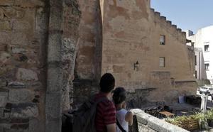 Jornada de puertas abiertas en la torre del Horno de Cáceres