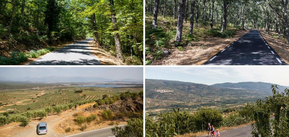 Cuatro carreteras extremeñas para conducir despacio