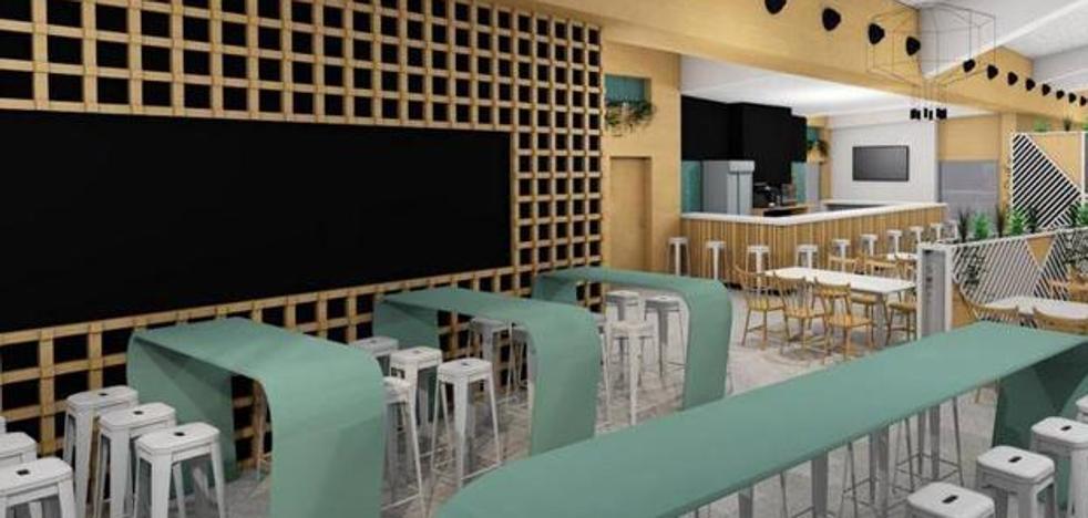 Plantean instalar una carpa provisional para dar el servicio de cafetería en el nuevo hospital de Cáceres