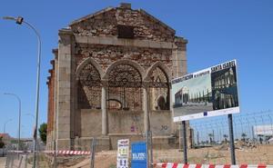 La restauración de la capilla de Santa Isabel en Villanueva estará terminada la próxima primavera