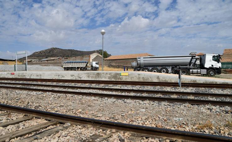 Obras de mejora de la estación ferroviaria de Cabeza del Buey