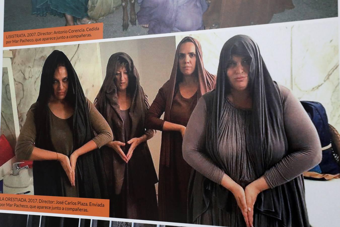 Exposición que rinde homenaje a los figurantes del Festival de Mérida