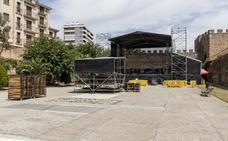 Torre Lucía de Plasencia ya está a punto para el folk