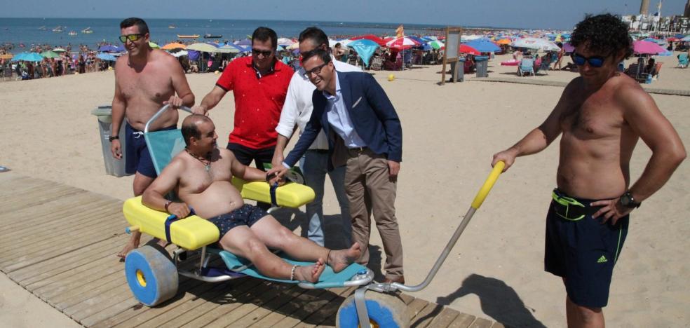10.000 discapacitados acuden al chalé de la Diputación de Badajoz en Chipiona