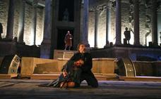 'Tito Andrónico' clausura el Festival de Teatro de Mérida con su trágico final