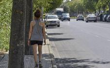 Comienzan las obras para ampliar el acerado de la avenida Manuel Rojas de Badajoz
